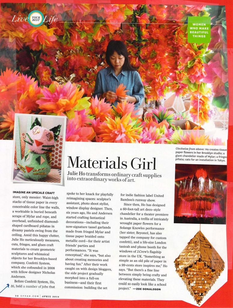 Materials Girl.