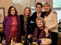 Cecelia Alvear, Margie Friedman, Erica, Patty Ecker and Nan Tepper