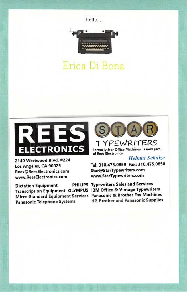 Rees Electronics 2