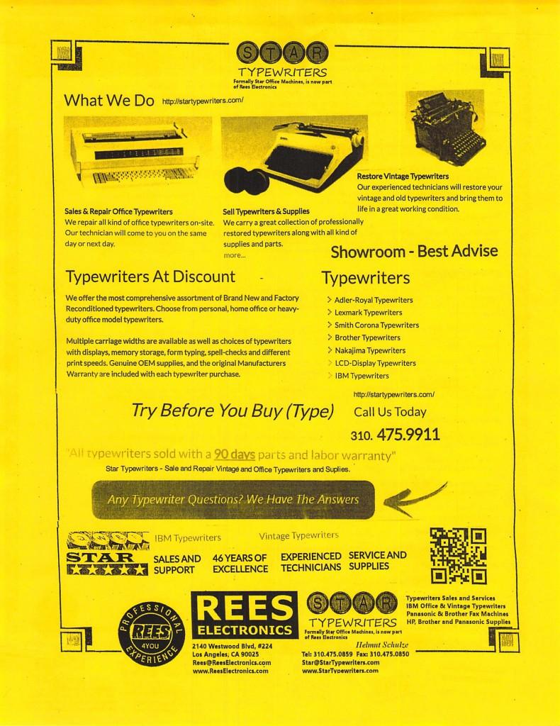 Rees Electronics 3